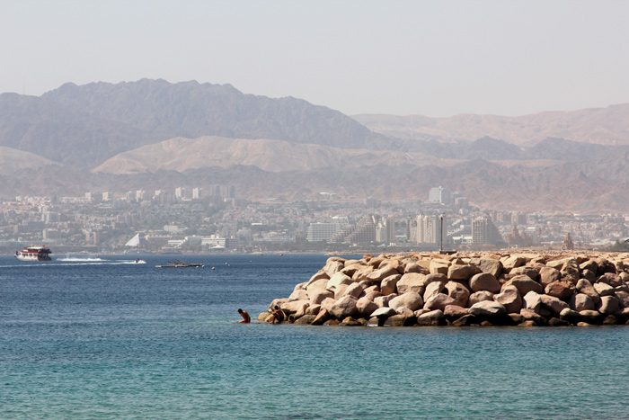 Pohled na Eilat